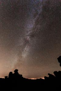 Milky Way from Gt Staple Tor